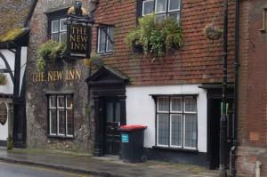 the New Inn looks pretty olde