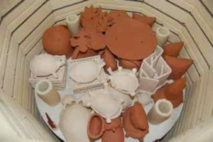 fired bisqueware
